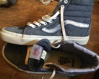 Vans high top shoes size 6.5