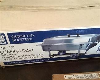 Like new chafing dish $48