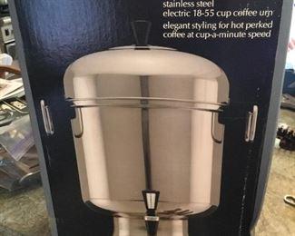FarberWare coffee urn. $50
