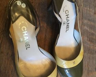 Chanel 2 toned made in Italy size 36 1/2 $500