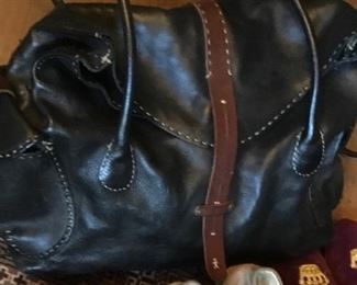 Henry Beguelin Black leather bag. Purchased for $2500. Selling for $1500
