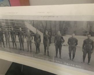 Marquette 1920s football squad original photo