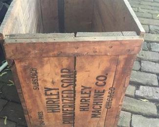 Antique soap box