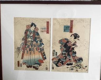 Japanese signed art