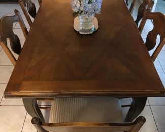 Chippendale Style Dining Room Set