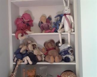 Collectible stuffed animals