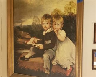 Print of children