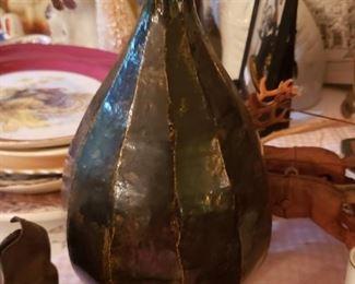 Unusual stoneware vase