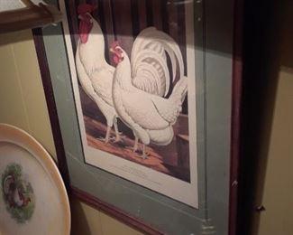 Poultry print, 1800s