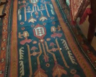 Oriental rug, all wool