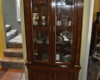 Fabulous display case filled with treasures