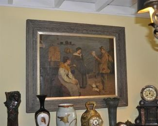 Original Luigi Scaffai oil painting