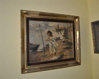 Cosimo Privato original oil painting
