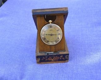 1829 Breguet 18K pocket watch - this is a fabulous 1831 copy made by a highly skilled artisan with some Breguet parts - Verge Fusee movement with period wood display case