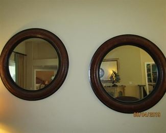 TWIN MIRRORS THAT ARE JUST GREAT TOGETHER OR APART