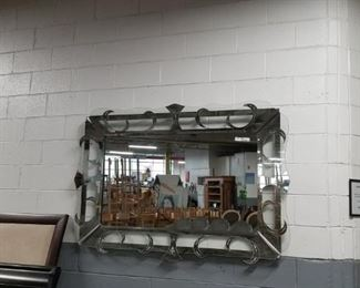 Gorgeous vintage 6 foot silver? ornate mirror Was $4000 Now $2000