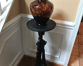 Victorian Plant Stand with Vase