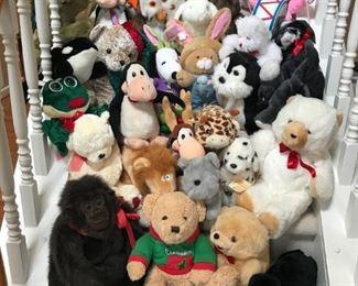 Stuffed Animals Galore!