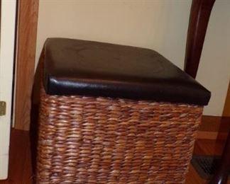 1 of 2  -  Basket Hamper/Storage Box