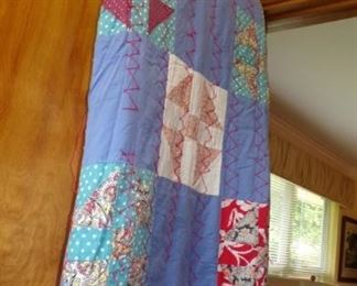 Quilt - 1 of three hand made