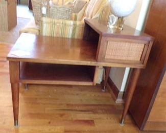 1 of 2 alike vintage End Tables