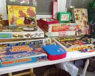 vintage Games - in the Patio Room
