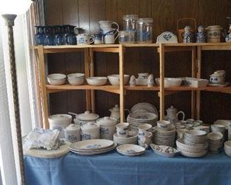 Large selection of Pfaltzgraff dishes