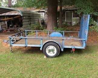 Texas Brag 10' x 6' Utility Trailer W / ramps.