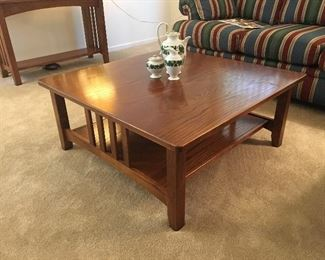 Mission Hills Hammary Living Room Set (Coffee Table, Sofa Table & 1 End Table)