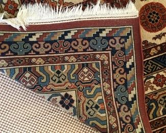 Underside of Persian Rug