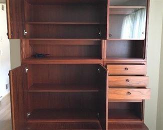 Mid Century Modern Storage Cabinet by Maurice Villency