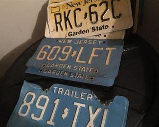 NJ License Plates