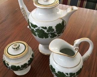 Genuine Meissen Tea Set, excellent condition