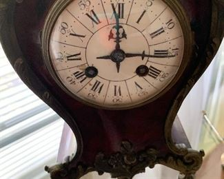 vintage French mantle clock