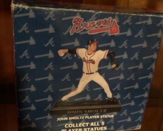 John Smoltz collectible statue