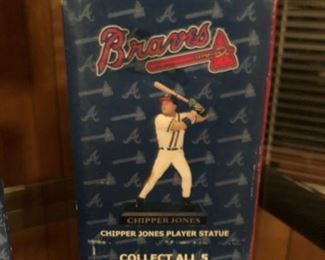 Chipper Jones collectible statue