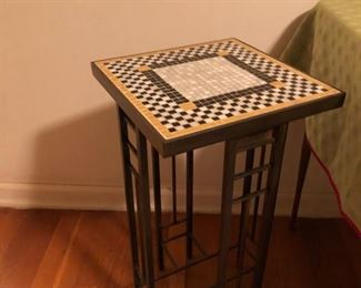mosaic plant stand