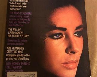 Vintage 1970's Mc Calls Elizabeth Taylor