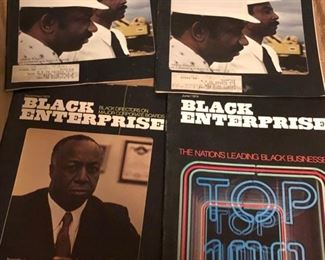 Vintage 1970's Black Enterprise Magazines