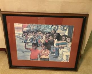 """Muscles"" Framed Print"