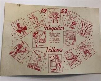 "1950's Invitation to ""The Regular"""