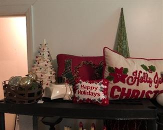 xmas down pillows