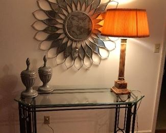 consold and super large sunburs mirror