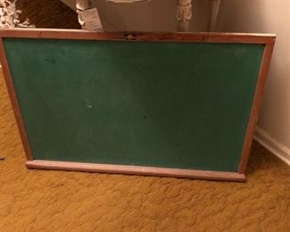 vintage large chalk board