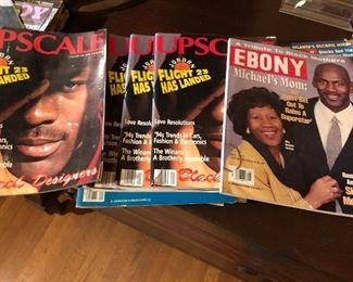 Michael Jordan Upscale and Ebony Magazine