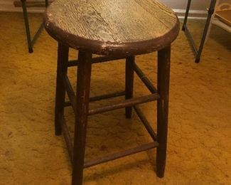 Vintage Morris Brown Stool.  Used in Biology Dept