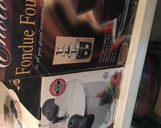 8  Quart Pressure Cooker, Chocolate Fountain