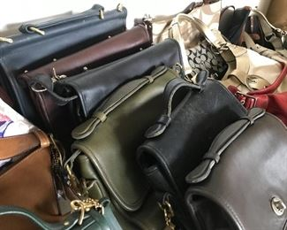 Fabulous Collection of Hand Bags - Coach, Dooney & Burke, Etienne Aigner and More!