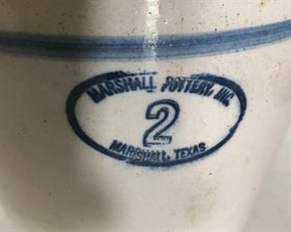 Antique Butter Churn - Marshall Pottery, Texas