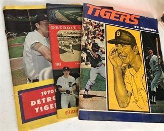 Vintage Detroit Tigers Memorabilia 1960s & 70s
